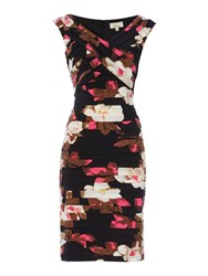 Linea Printed Shutter Dress Multi Coloured Multi Coloured