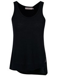 Sissa Eleonora Tank Top Cotton Silk Black