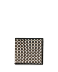 Alexander Mcqueen Coated Skull Wallet Green White
