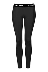 I' Low Rise Ankle Leggings By Ivy Park Black