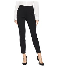 Ivanka Trump Pull On Self Tab Ponte Pants Black Clothing