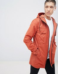 D Struct Summer Parka Jacket Red