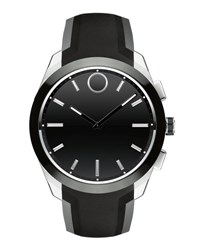 Movado 44Mm Bold Connected Ii Smartwatch Black