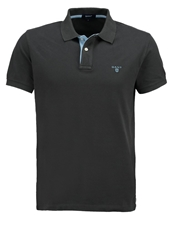 Gant Polo Shirt Dark Graphite Dark Gray