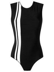 Haight Knit Swimsuit Black