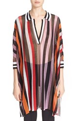Women's Missoni Stripe Knit Dolman Sleeve Top