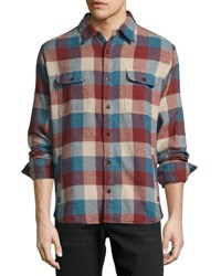 Faherty Durango Check Cpo Jacket Multi