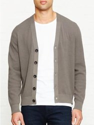 Paul Smith Ps By Knitted Cardigan Grey