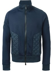 Moncler Grenoble Padded Details Track Jacket Blue