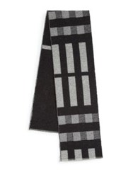 Burberry Wool And Cashmere Blanket Scarf