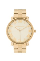 Michael Kors Norie Watch Metallic Gold