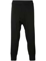 Neil Barrett Slouch Sweatpants Men Cotton Polyester Polyurethane Cupro 46 Black