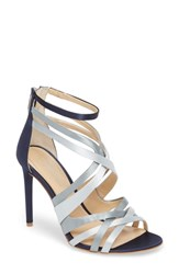 Imagine Vince Camuto By Ress Sandal Ice Blue Com Satin