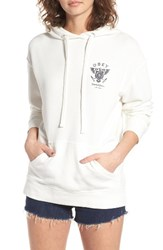 Obey Women's Liberty And Justice Sweatshirt White