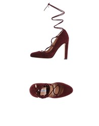 Brian Atwood Pumps Maroon