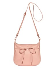 Nica Bow Tie Crossbody Pink