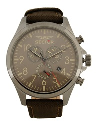 Sector Wrist Watches Dark Brown