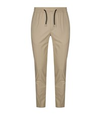 Sandro Tailored Drawstring Trousers Beige