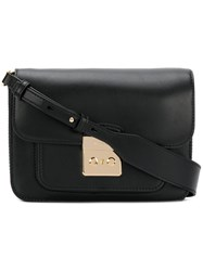 Michael Kors Sloan Editor Shoulder Bag Women Leather Metal Other One Size Black