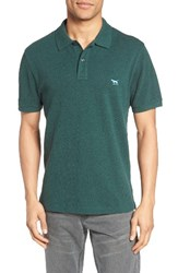 Rodd And Gunn Men's 'The Gunn' Pique Sports Fit Cotton Polo Forest