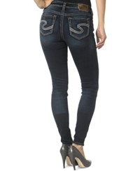 Silver Jeans Co. Silver Jeans Suki Mid Rise Super Skinny Jeans Indigo Wash