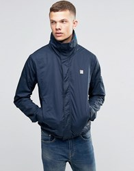 Bench Funnel Neck Jacket In Navy Navy