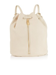 Elizabeth And James Cynnie Drawstring Backpack Cream Off White