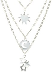 Sweet Deluxe Grecy Necklace Silvercoloured