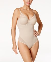 Miraclesuit Extra Firm Control Sheer Panel Bodyshaper 2770 Nude