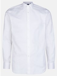 Aquascutum London Savick Textured Shirt White