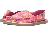Sanuk Donna Aloha Paradise Pink Waikiki Floral Women's Slip On Shoes