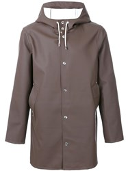 Stutterheim 'Stockholm' Raincoat Brown
