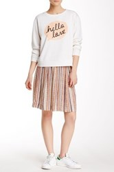 Ace Delivery Pleated Print Skirt Multi