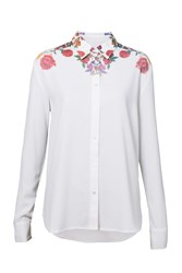 Desigual T Shirt Yes White