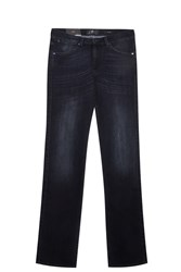7 For All Mankind Slim Luxe Jeans Black