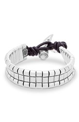 Men's Steve Madden Horn Closure Bracelet