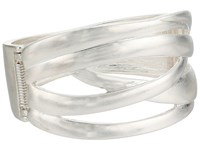 The Sak Crisscross Bangle Bracelet Silver Bracelet