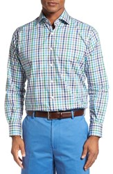 Peter Millar Men's 'Chateau' Regular Fit Check Sport Shirt