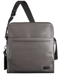 Tumi Men's Stratton Crossbody Bag Grey