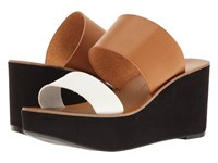 Chinese Laundry Ollie Saddle Women's Wedge Shoes Brown