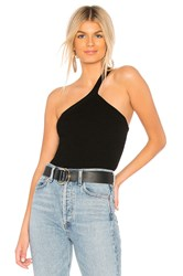 Bailey 44 Natasha One Shoulder Sweater Black