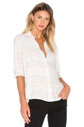 Frame Denim Le Essential Blouse Beige