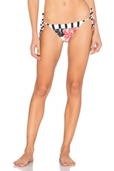 Salinas Kate Side Tie Bikini Bottom White