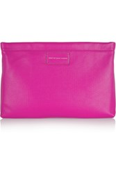 Marc By Marc Jacobs Can't Clutch This Textured Leather Clutch Pink