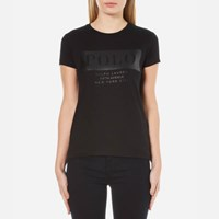 Polo Ralph Lauren Women's Graphic T Shirt Black