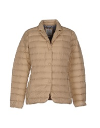 Geox Down Jackets Beige