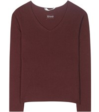 81 Hours Cocos Cashmere Sweater Red
