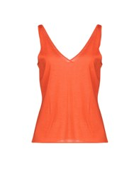Ralph Lauren Black Label Tops Orange