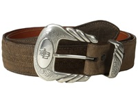 Lucchese W2251h Chocolate Mad Dog Goat Men's Belts Brown