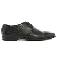 Billtornade Doctor Black Fine Leather Derbies